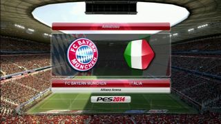 Pro Evolution Soccer 2014 - Bayern vs Italia