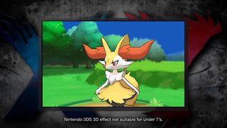 Pokémon X/Y - Quilladin, Braixen y Frogadier