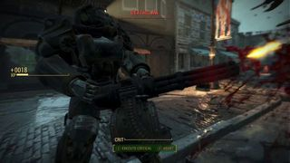 Fallout 4 - El combate