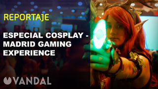 Special Cosplay in the Madrid Gaming Experience