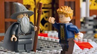 Gandalf and Newt Scamander, the protagonists of the new video LEGO: Dimensions