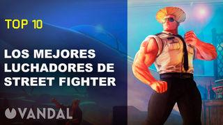 Top 10: Los mejores luchadores de Street Fighter - Vandal TV
