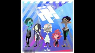 Unveiled a new song from the band sonra of Splatoon 2