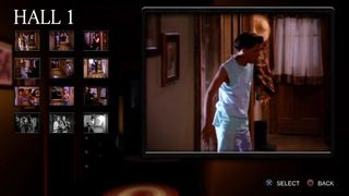 Show us the cinema mode for Night Trap: 25th Anniversary Edition