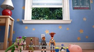 Toy Story will be present in the world of Kingdom Hearts III