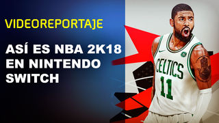 NBA 2K18 is supply in the Switch in its three editions
