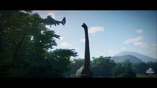 First trailer with in-game engine Jurassic World Evolution