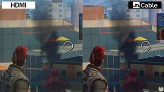 improve the graphics of Xbox One with mCable, the HDMI, with anti-aliasing
