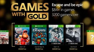 Announced Games with Gold October