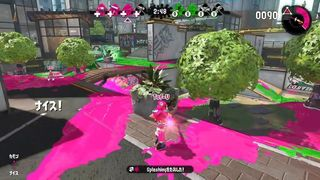 Nintendo shows in the video the spectator mode of Splatoon 2