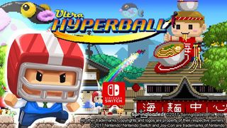 The title party Ultra Hyperball is left to see in Nintendo Switch