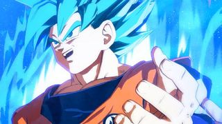 SSGSS Goku and SSGSS Vegeta is shown in Dragon Ball FighterZ