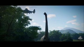 First trailer with in-game engine Jurassic World Evolution