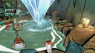 Okami HD, shows his gameplay in videos