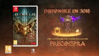 No items Link Diablo 3 for Switch
