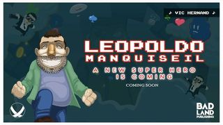 Leopoldo Manquiseil, a platformer for the PC and a Switch with the purpose of solidarity