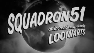 Squadron 51 mostra a sua ação contra os discos voadores no vídeo
