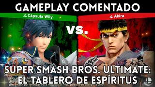 Show 1302 spirits of Super Smash Bros. Ultimate