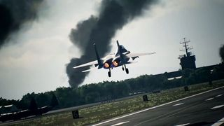 Ace Combat 7 dispenses with the veteran F-15 S/MTD