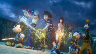 filtered elements of the story of Kingdom Hearts III