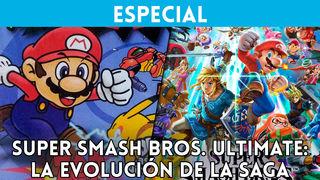 So it has evolved graphically the saga Super Smash Bros.