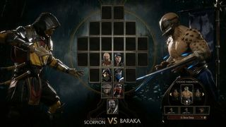 Compare the modeled Mortal Kombat X and Mortal Kombat 11