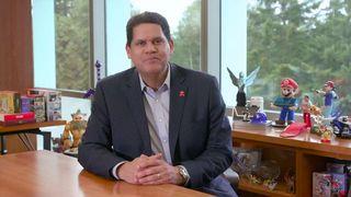 Reggie Fils-Aime, president of Nintendo of America, announces his