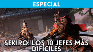 Sekiro Shadows Die Twice: The 10 bosses more difficult