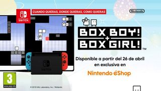The demo of BOXBOY! + BOXGIRL! for Nintendo Switch already available in the eShop