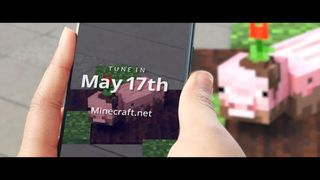 Minecraft will present an augmented reality experience on may 17