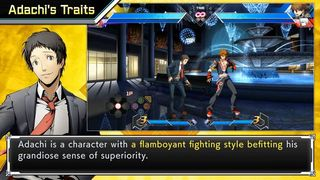 Tohru Adachi shows his skill to the combat in BlazBlue: Cross Tag Battle