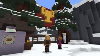 The world of Frozen comes to Minecraft with a map already available for the players,